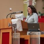 Maria Hartley, poradce městského odboru pro seniory a handicapované, Švédsko